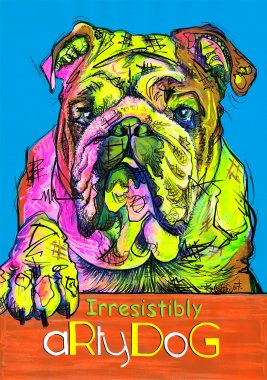 aRtyDoG Falcor, English Bulldog, boy, France