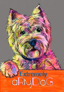 aRtyDoG Broody, Westie, boy, Canada