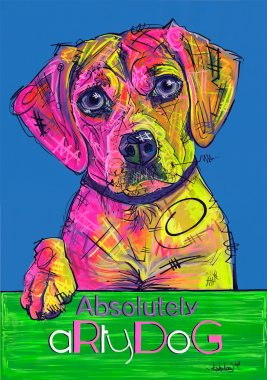 aRtyDoG Rose, Beagle, girl, UK