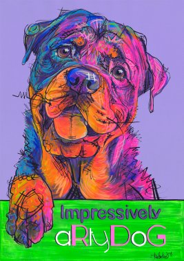 aRtyDoG Cooper, Rottweiler, boy, Scotland