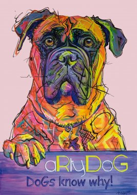 aRtyDoG Miss Maggie, Bullmastiff, girl, Belgium 